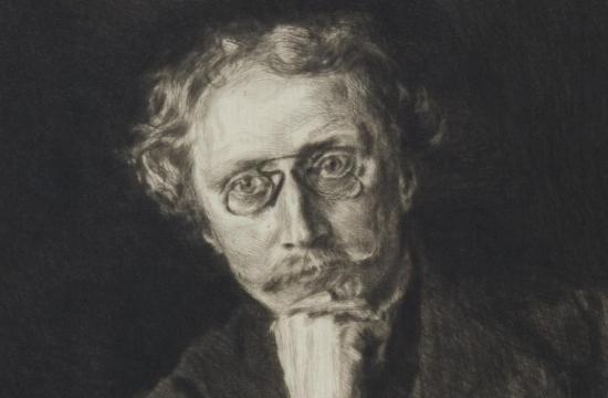 Antonín Sova na portrétu odMaxe Švabinského, 1908