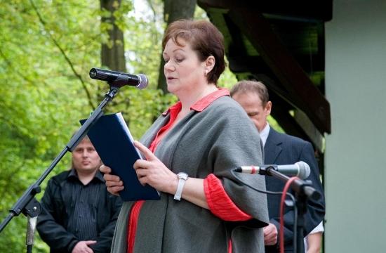 Slavnostním programem provázela paní učitelka Marie Janoušová