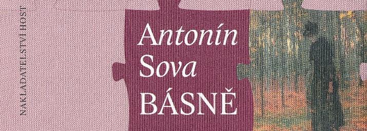 Antonín Sova Básně, vydalo nakladatelství Host, edice Česká knižnice