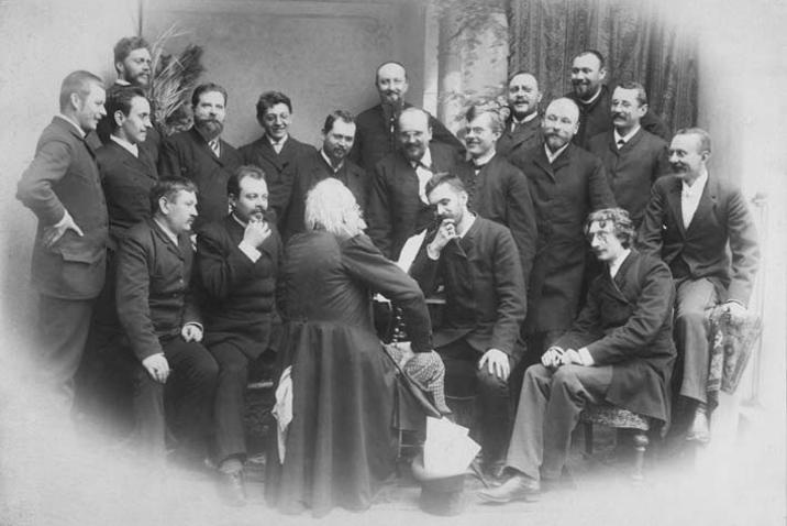 Spolek Máj ve Slaném v roce 1890