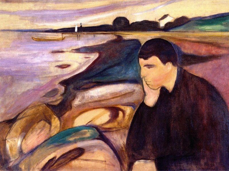 Edvard Munch - Melancholy 1894