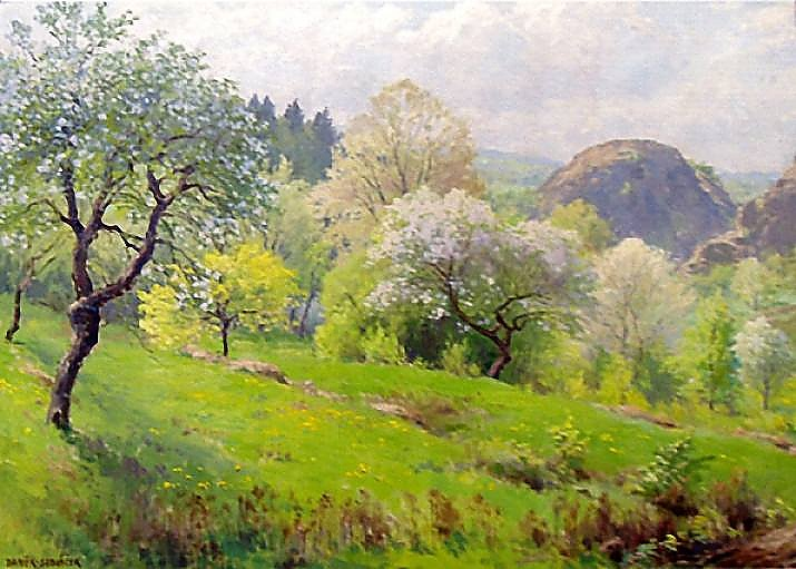 František Daněk Sedláček – Jaro, článek Báseň o jaru