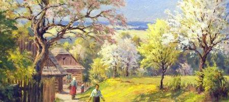 Báseň jaro - článek básně o jaru v díle Antonína Sovy