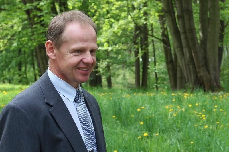 František Pinkas, starosta městyse Lukavec