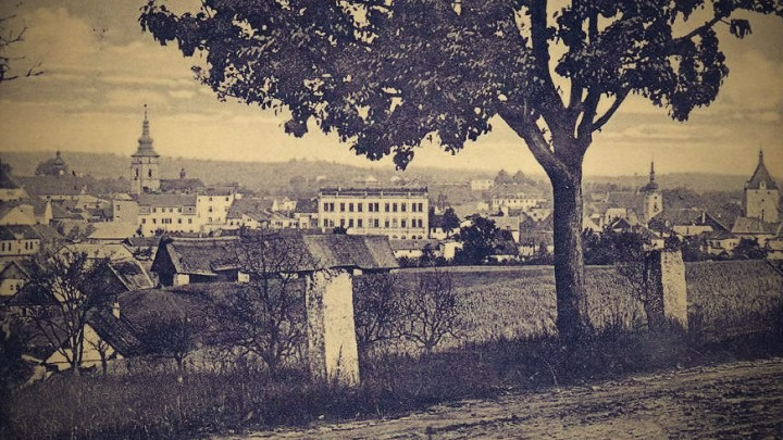 Pelhřimov v roce 1930