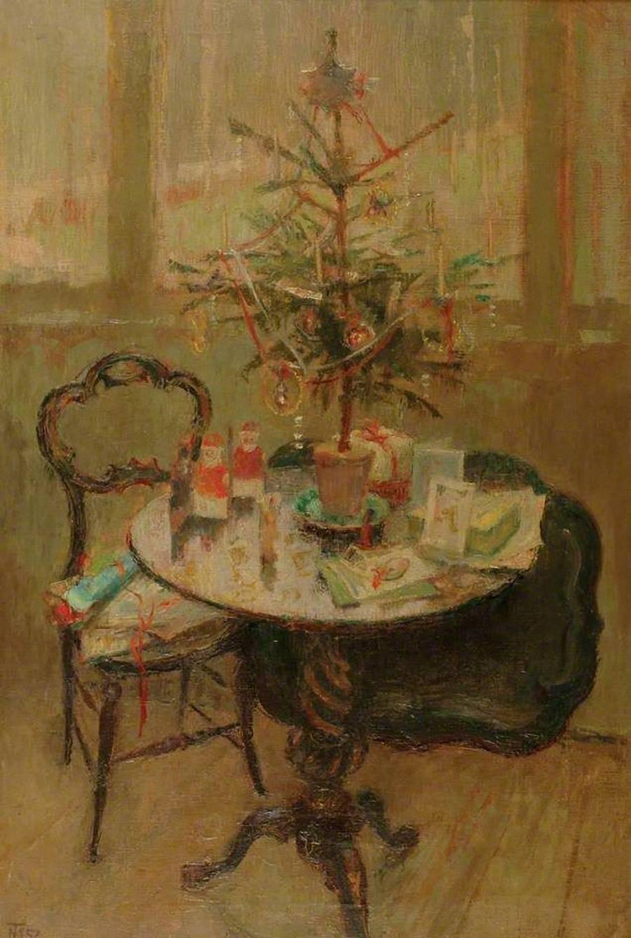 Margaret Thomas – Vánoční stolek, básně s tematikou Vánoc