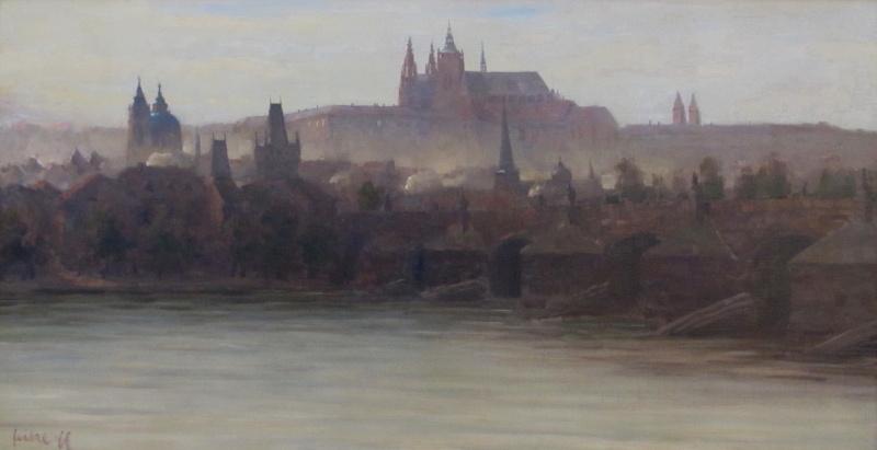 Web Antonína Sovy a Stanislav Feikl – Ranní panorama Prahy
